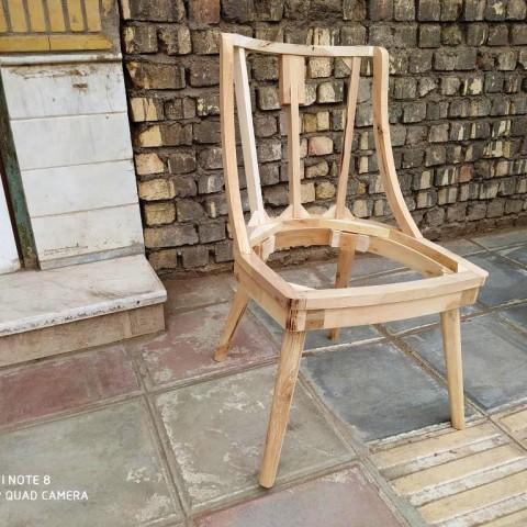 صندلی مدل کپال خام کد 178