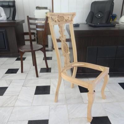 صندلی مدل آناناسی راش کد 104