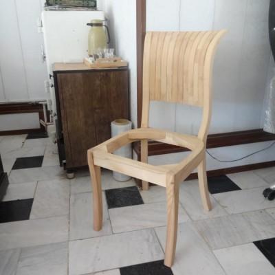 صندلی صدفی راش کد 113