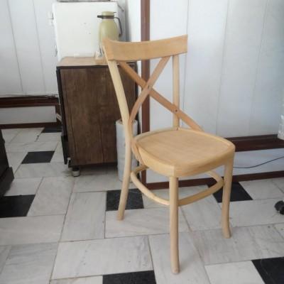 صندلی لهستانی ضربدری راش کد 114