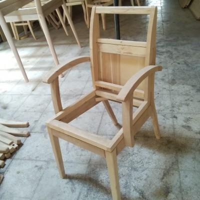 صندلی شبنم دسته دار کد 129