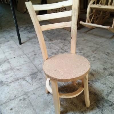 صندلی 3 تیره طوقه دار کد 130