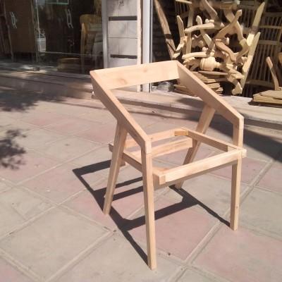 صندلی مدرن دسته کج توسکا کد 149
