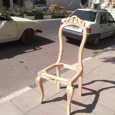 صندلی شعله چوب توسکا کد 150