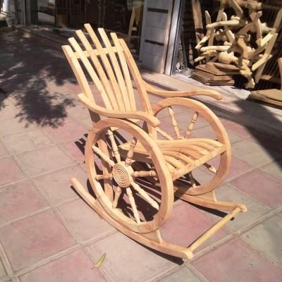 صندلی راک چرخی ملوانی و سکانی 1 کد 224