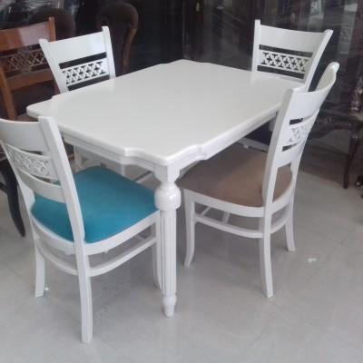 میز خراطی با صندلی پازل کد 1504
