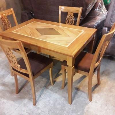 میز و صندلی 4 نفره ناهید راش کد 1509