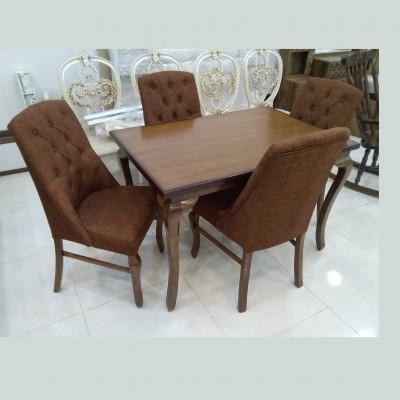 میز چپندر با صندلی آرمان کد 1522