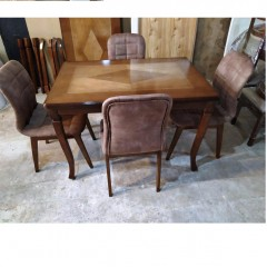 میز شیدا با صندلی لادیز