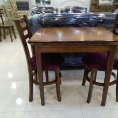 میز شاپرک با صندلی طوقی