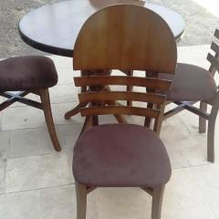 خرید و فروش میز گلدانی با صندلی مروارید