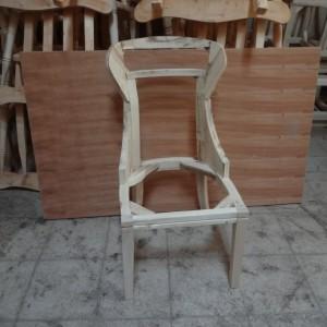 صندلی فیتیله ای خام