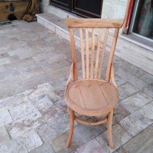 تولید صندلی لهستانی خام پشت بلند