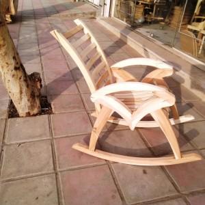 تولیدی صندلی راک ستاره خام
