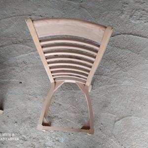 تولیدی صندلی نرده ای راش خام