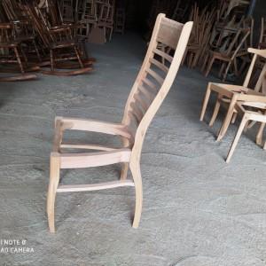 تولید صندلی نرده ای راش خام