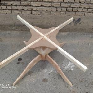 تولید پایه میز 12 نفره خام مروارید