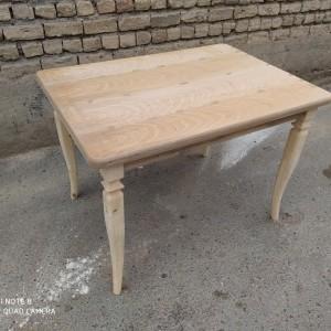 فروش میز مکعبی 4 نفره خام