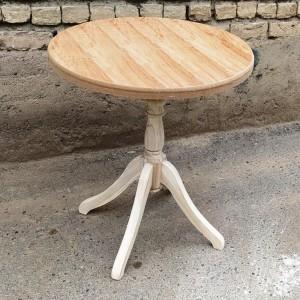 تولیدی میز دکوری خام ساده