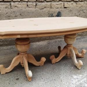 فروش میز جلومبلی و عسلی خام ایتالیایی