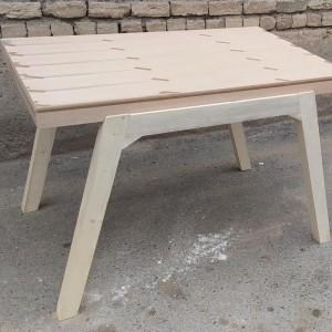 تولید کننده میز زاویه رستوران خام
