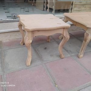 تولید کننده میز جلومبلی و عسلی خام منبتی