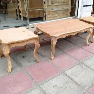 تولید میز جلومبلی و عسلی سم آهویی خام منبتی
