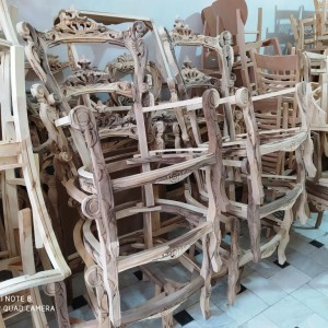 تولیدی مبل منبتی مدل کسرا خام