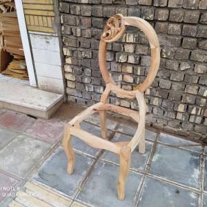 صندلی مدل ستاره منبتی خام