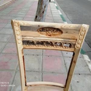 صندلی منبتی جدید خام ققنوس