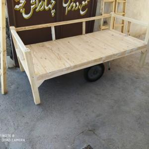 تولید کننده تخت سنتی خام ساده