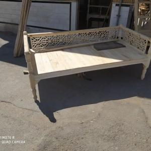 فروش تخت سنتی مشبک خام