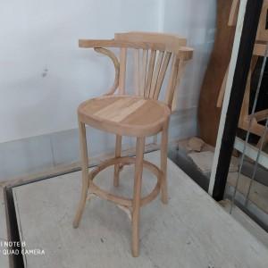 صندلی کنار اپنی لهستانی راش دسته دار خام
