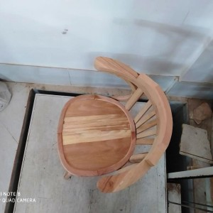 سازنده صندلی لهستانی دسته دار راش خام