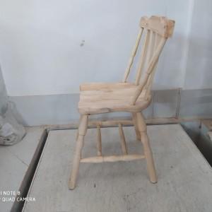 صندلی تگزاسی خام کف چوب