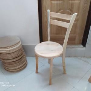 تولیدی صندلی کف چوب 2 تیره خام
