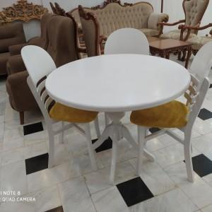 ساخت میز گلدانی با صندلی تیغه ماهی