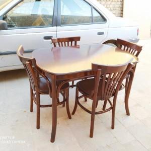 قیمت میز لهستانی و صندلی لهستانی آماده