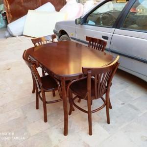 میز و صندلی لهستانی آماده