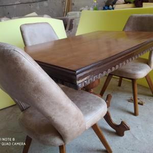 تولید کننده میز غذاخوری عروس با صندلی النا