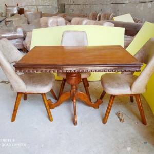 صندلی النا با میز مستطیل عپارروس