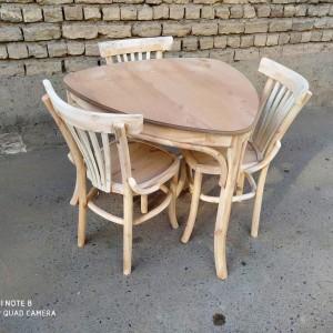 تولید کننده میز و صندلی 3 نفره خام