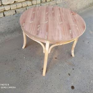 تولیدی میز لهستانی با صندلی خام