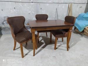 میز غذاخوری مکعبی با صندلی چستر کد 1530