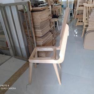 صندلی مدل سپیدار راش خام