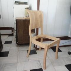 تولید صندلی صدفی راش