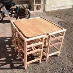 تولید میز کمجا مربع