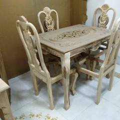 تولید میز منبتی با صندلی چپندر
