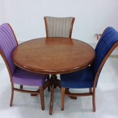 تولیدی میز گلدانی با صندلی سون