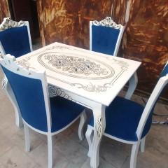 میز منبتی با صندلی نفیس